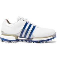 Adidas Tour 360 Boost 2.0 Leather Golf Shoes White