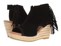 Minnetonka Blaire Black Women's Wedge Shoes