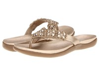 Kenneth Cole Reaction Glam Athon Champagne Sandals Gold