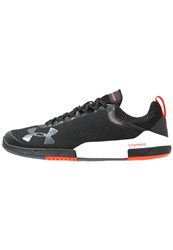 Under Armour Charged Legend Tr Sports Shoes Black White Rhino Gray