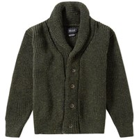 Howlin' Flying Teapot Shawl Cardigan Green