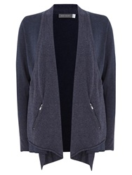 Mint Velvet Layered Cardigan Indigo
