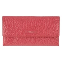 Radley Abbey Leather Travel Wallet Pink