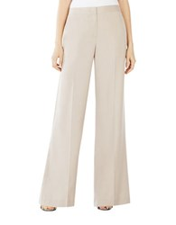 Bcbgmaxazria Anthony Wide Leg Trousers Grey