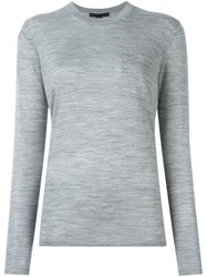 Alexander Wang Crew Neck Sweater Grey