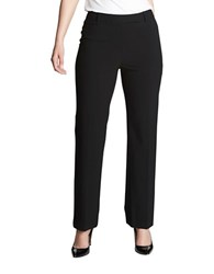 Chaus Emma Solid Pants Black