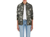 Members Only Women's Camouflage And Floral Boyfriend Jacket No Color