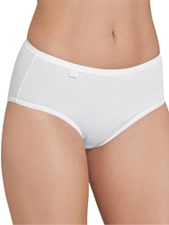 Sloggi Evernew Midi Briefs White