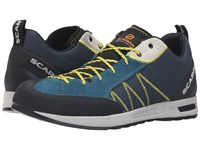 Scarpa Gecko Lite Lake Blue Yellow Men's Shoes