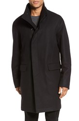 Vince Men's Raw Edge Wool Blend Military Coat