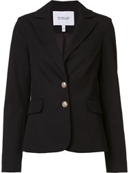 Derek Lam 10 Crosby Slim Fit Blazer Black