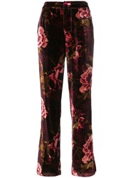 F.R.S For Restless Sleepers Crono Trousers Viscose Silk Red