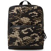 Pierre Hardy Camo Cube Backpack Green