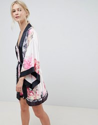 Ted Baker B By Painted Posey Kimono Pink