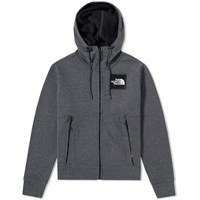 The North Face Fine Full Zip Hoody Grey