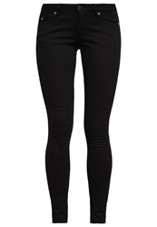 Cheap Monday Slim Fit Jeans Black Black Denim