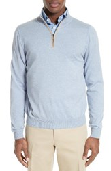 Canali Men's Quarter Zip Sweater