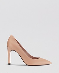 Whistles Pointed Toe Pumps Cornel High Heel Nude