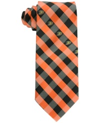 Eagles Wings Anaheim Ducks Checked Tie Black