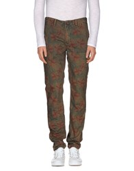Tommy Hilfiger Denim Trousers Casual Trousers Men Military Green