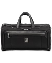 Travelpro Platinum Elite Regional Carry On Duffel Bag Shadow Black