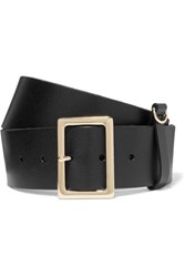 Frame Leather Belt Black Gbp