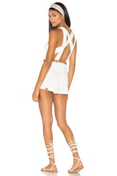 Rachel Pally Ko Playsuit White