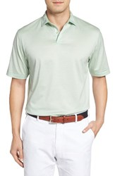 Peter Millar Men's Nanoluxe Golf Polo Peninsula Green