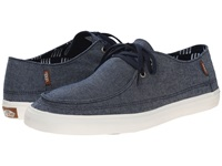 Vans Rata Vulc Sf Chambray Dress Blues Brick Blocks Men's Shoes Gray