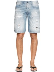 Diesel Stone Washed Raw Cotton Denim Shorts