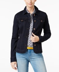 Charter Club Denim Jacket Only At Macy's Rinse Wash