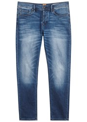 Boss Orange90 Blue Tapered Jeans