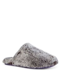 Ted Baker Textured Leather Slippers Grey