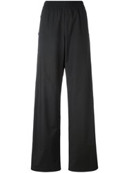 Maison Martin Margiela Buttoned Palazzo Pants Black