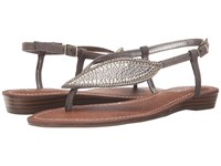 Carlos By Carlos Santana Laverne Pewter Women's Sandals