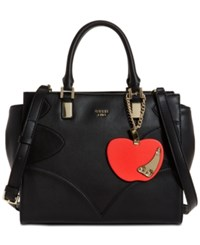 Guess Fruit Punch Society Small Satchel Black
