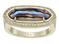 Kendra Scott Arielle Ring Gold Abalone Ring