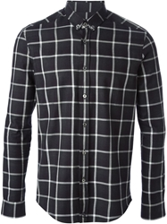 Surface To Air Checked Shirt Black