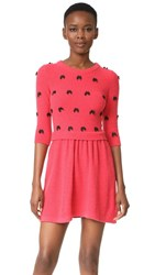 Boutique Moschino 3 4 Sleeve Dress Pink