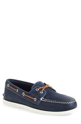 Sperry Men's 'Authentic Original' Boat Shoe Navy Leather