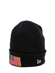 New Era Mlb Flag Knit Hat