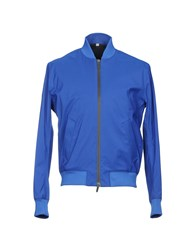 Hardy Amies Jackets Bright Blue