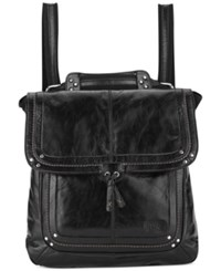 The Sak Ventura Leather Backpack Black Onyx