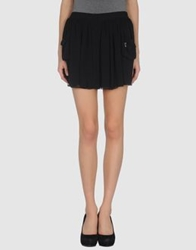 Denny Rose Mini Skirts Black