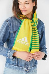 Adidas Originals World Cup Brazil Soccer Scarf Yellow Multi