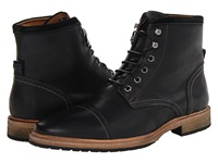 Florsheim Indie Cap Toe Boot Black Men's Lace Up Boots