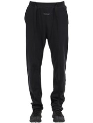 Fear Of God Relaxed Cotton Sweatpants Black