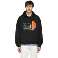 Wonders Ssense Exclusive Black China Hoodie
