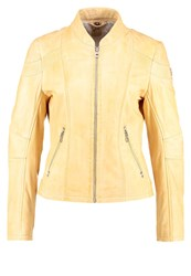 Gipsy Leather Jacket Sunshine Yellow