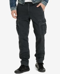 Denim And Supply Ralph Lauren Men's Slim Fit Chino Cargo Pants Black